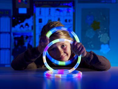 UV Juggling Rings, set of 3