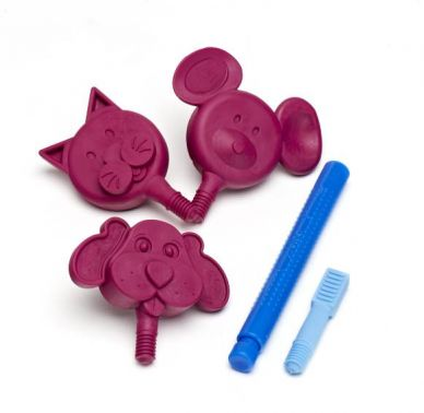 ARK's Z-Vibe Chewy Chewable Animal Wand - with Soft Tips