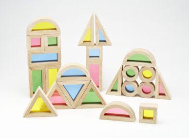 Rainbow Colour Blocks