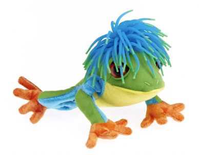 Funky Haired Freddy Frog