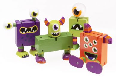 Jointed Monster - Set of 3