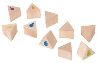 Matching Weighted Prisms - Set of 12