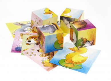 Animal Matching Squares