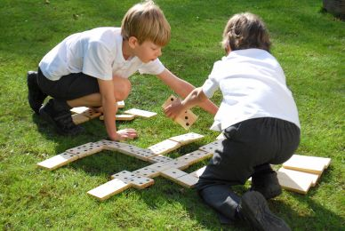 Touch and Match Dominoes