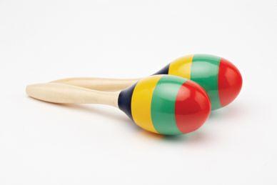 Maracas, Coloured Stripe