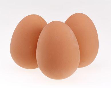 Egg Bouncy Ball - Set of 3