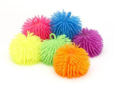 Bushy Ball - Available in six colours