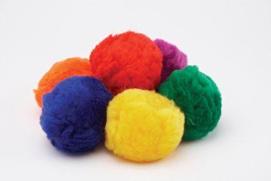 Fluff Balls, set of 6