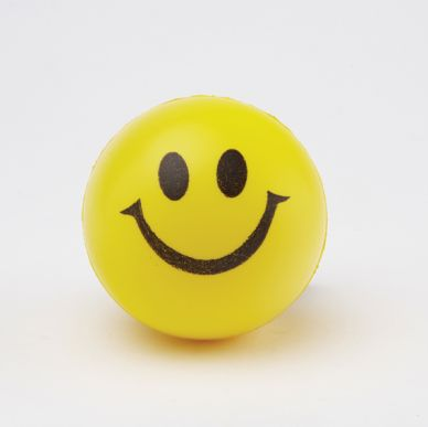 Happy Squeezy Ball, set of 3