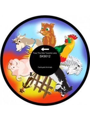"""6"""" Effect Wheel - Farmyard Animals"""
