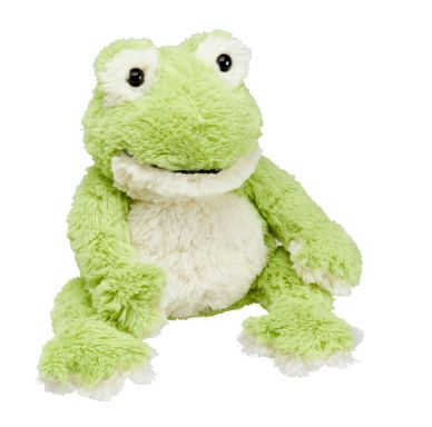 Heat Up Cosy Warmer - Finn the Frog - weighted at 2lbs