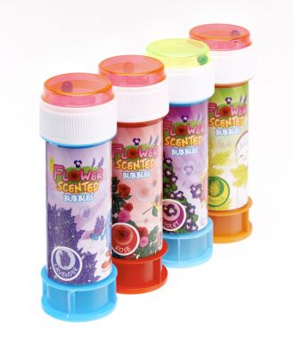 Flower Scented Bubbles - Set of 4