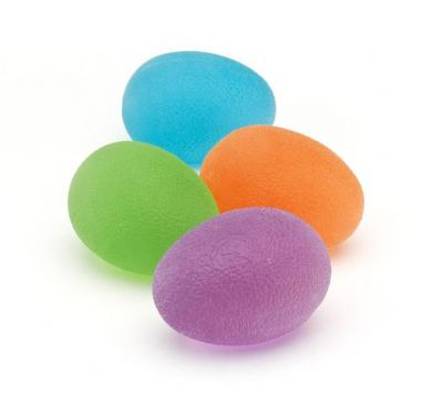 Hand Squeeze Eggs, set of 4