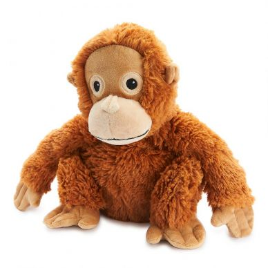 Heat Up Cosy Warmer - Olive the Orangutan - weighted at 2lbs