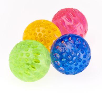 Honeycomb Flashing Ball - set of 4
