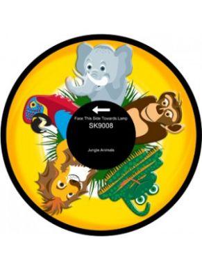 "6"" Effect Wheel - Jungle Animals"