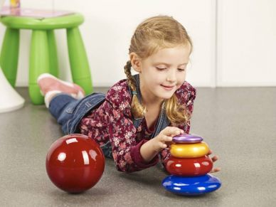 Sensory Pebbles, Donuts & Spheres Collection - set of 5