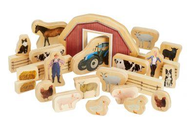 Wooden Farm Blocks