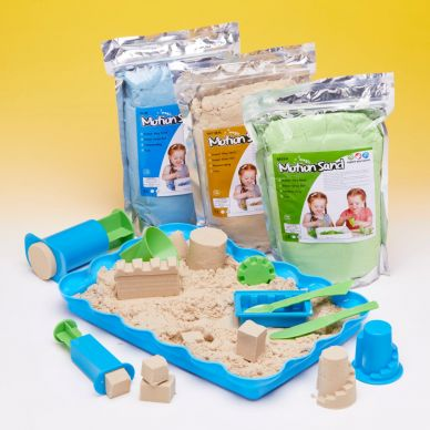 Magic Motion Sand Set - with your choice of colour Sand (kinetic sand)