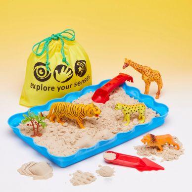 Magic Motion Sand Exploration Set - SAFARI (kinetic sand)