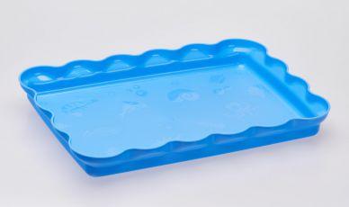 Kinetic Magic Sand Play Tray - blue tray