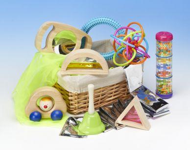 'New Babes' Grab & Move Basket