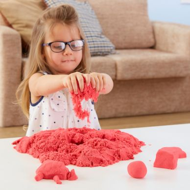 Red Magic Motion Moving Sand - 2.27kg (kinetic sand)