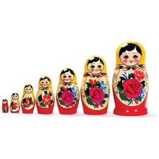 Russian Nesting Dolls - 7 piece