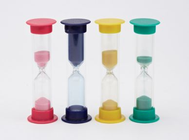 Sand Timers - Mini - set of 4