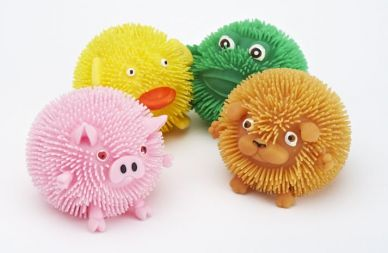 Squishy Farm Critters, set of 4