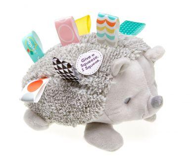 Heather Hedgehog Squeeze Squeaker