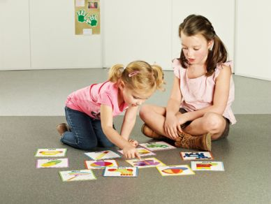 Touch N Feel Cards - First Words