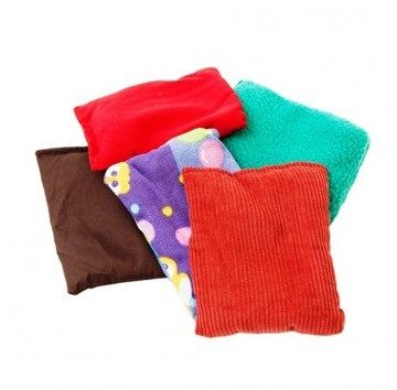 Weighted Tactile Bean Bags - Set of 5