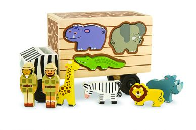 Animal Rescue - Shape Sorting Truck