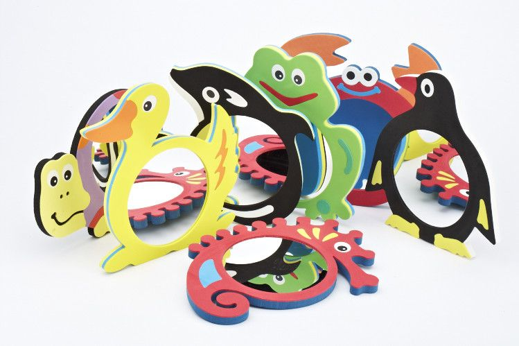 Magic Animal Mirrors, full set of 7