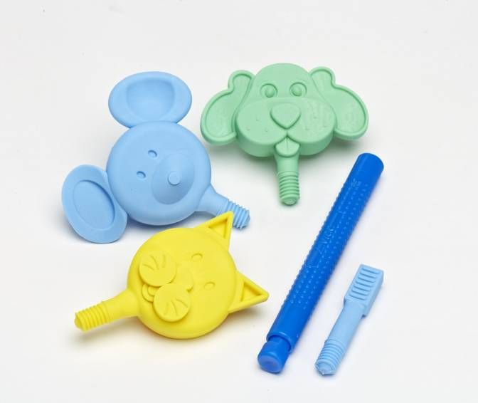 ARK's Z-Vibe Chewy Chewable Animal Wand - with Firm Tops