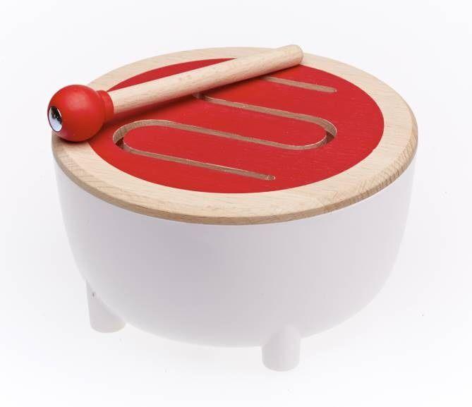 Musical Wooden Drum