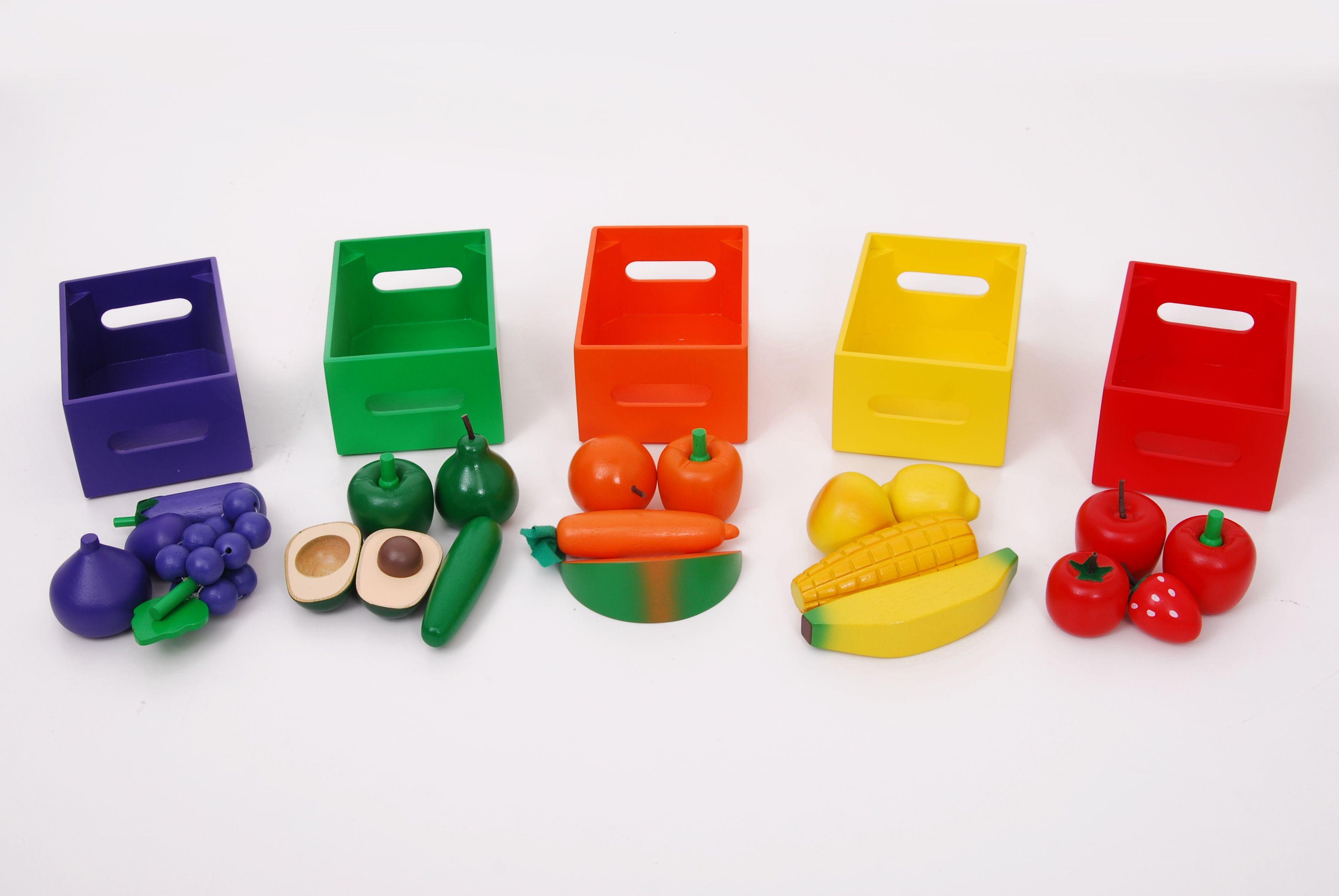 Fruit & Veg Colour Sorting Set