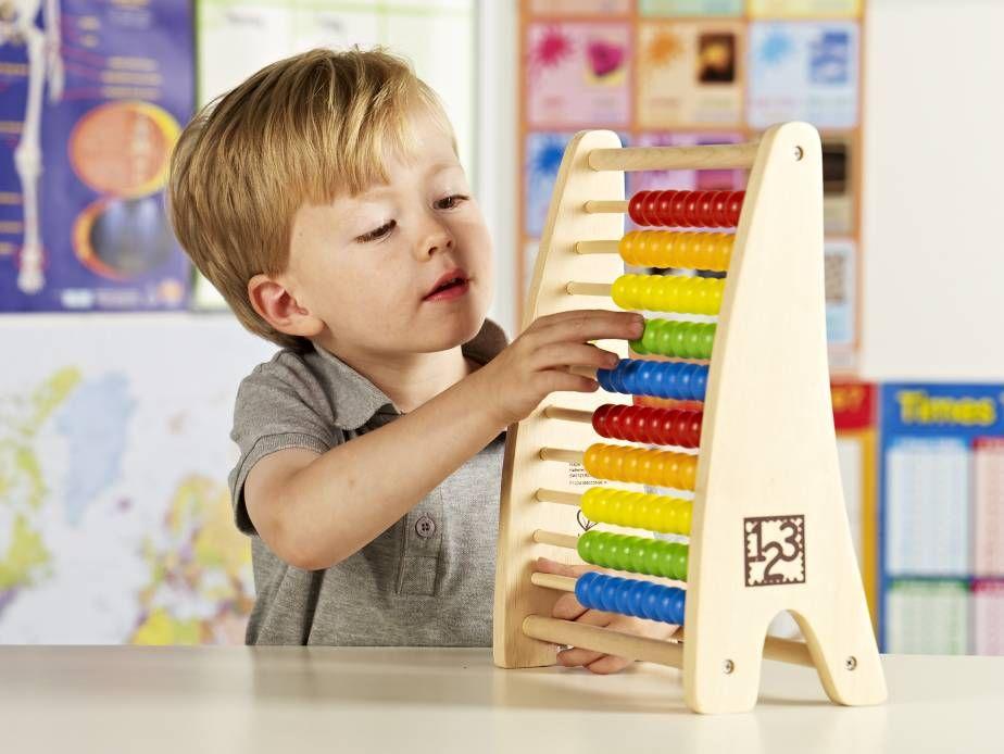 Rainbow Bead Abacus