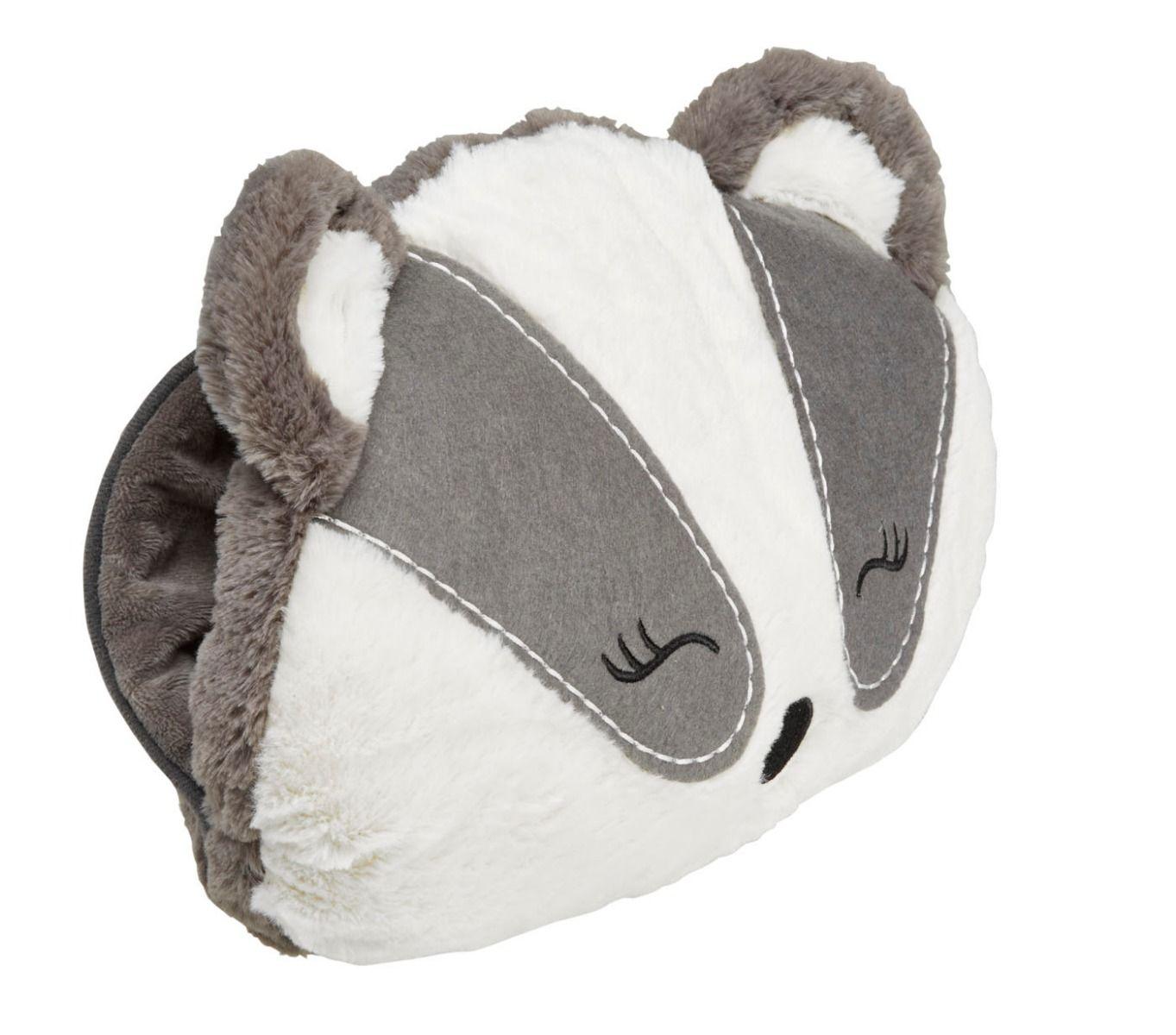 Cosy Heath Up Hand Muff - Badger