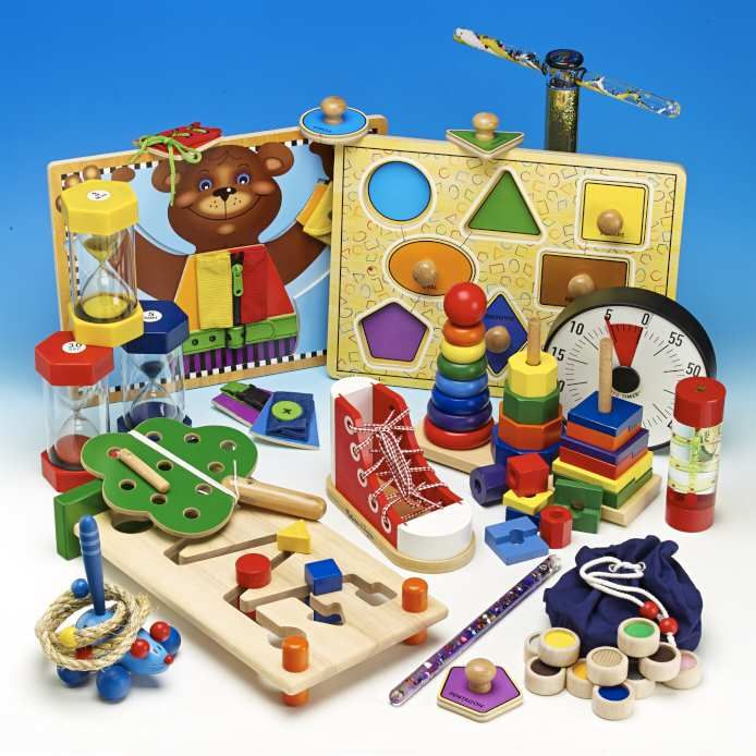 Concentration & Skills Discovery Tub