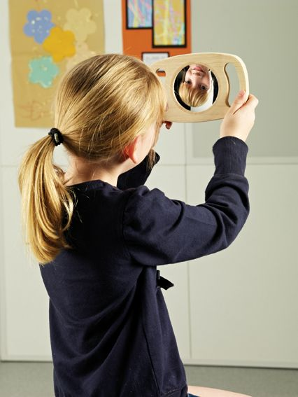 Easy Hold Double Sided Convex / Concave Mirror