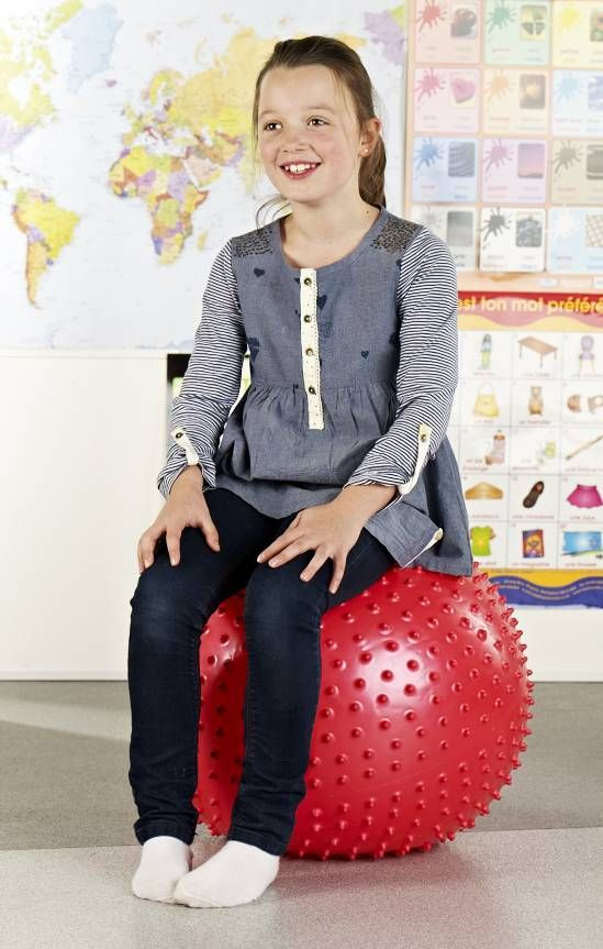 Sit On Spiky Ball