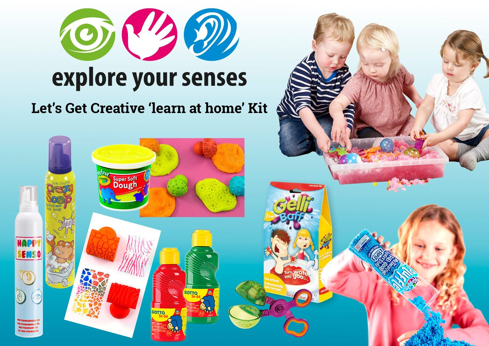Let's Get Creative ' LEARN AT HOME' Kit