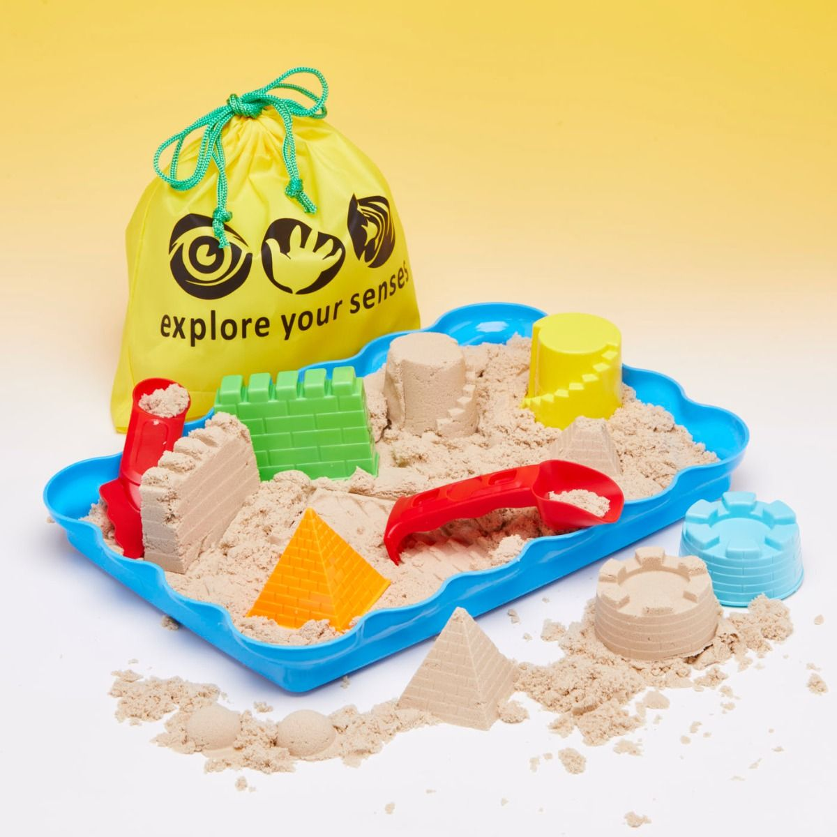 Magic Motion Sand Exploration Set - BEACHTIME (kinetic sand)