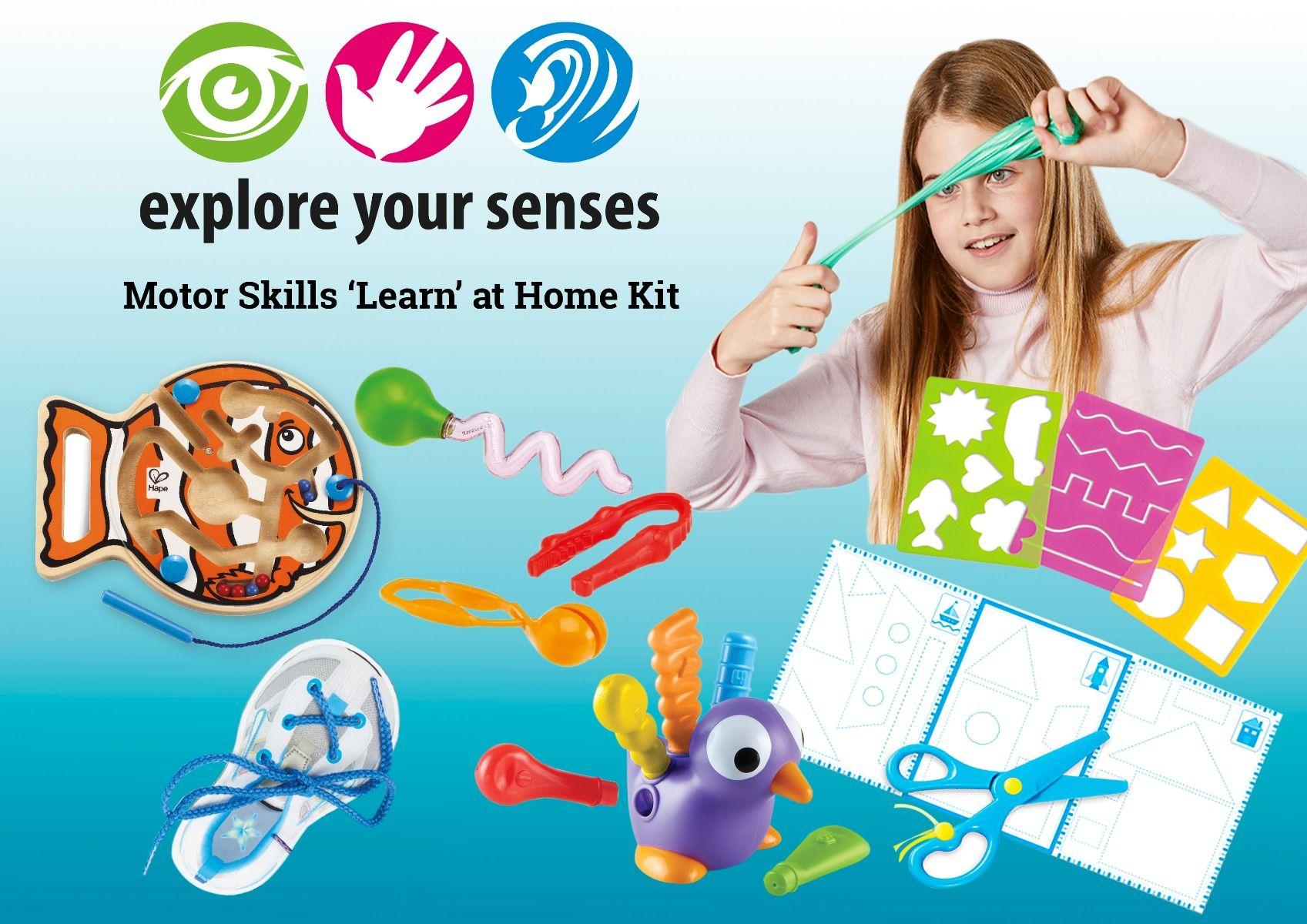 Motor Skills 'LEARN AT HOME' Kit