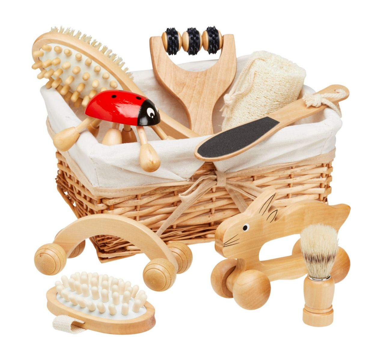 Natural Touchy Feely Basket