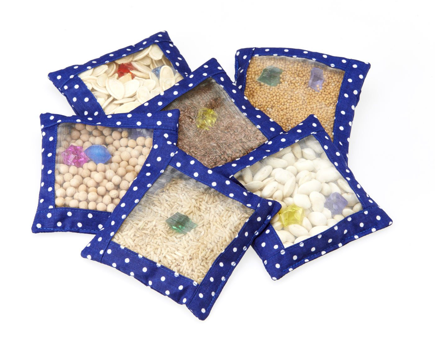 Sensory Discovery Bags, set of 6