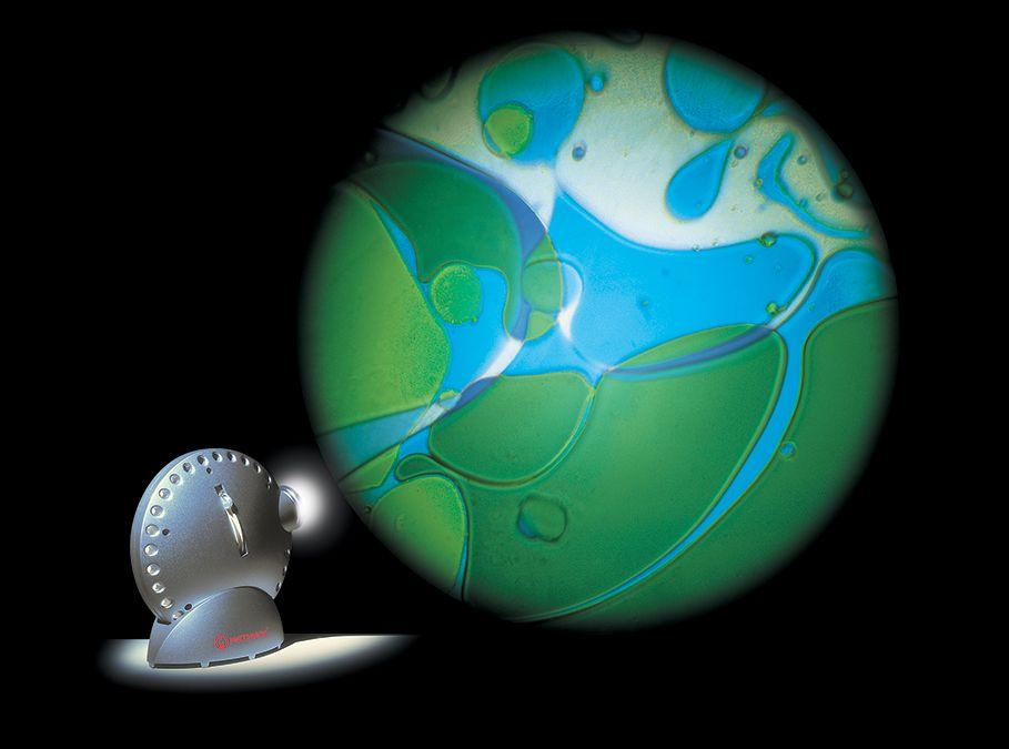 Mathmos Projector - Blue/Green