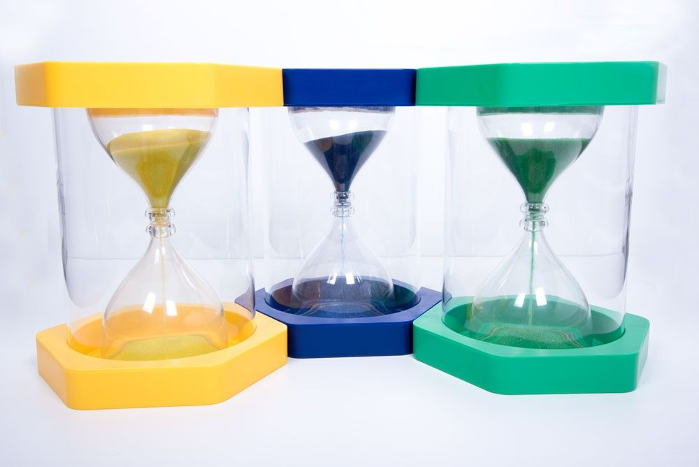 Sand Timer Stool - 3 Minutes